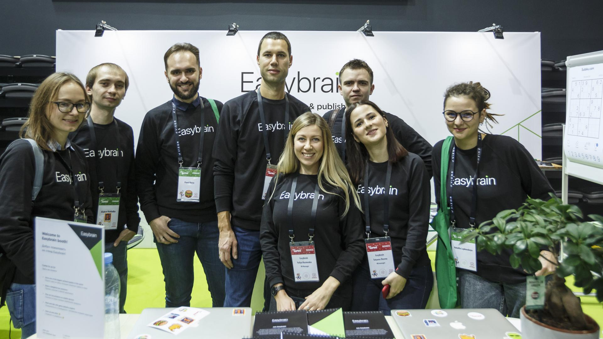 Easybrain team at DevGAMM Minsk 2018