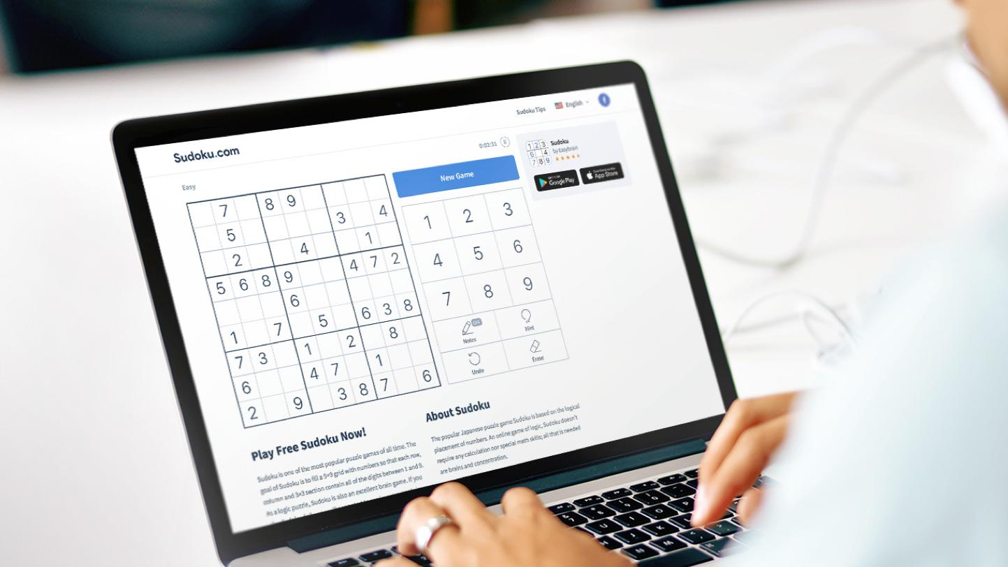 Sudoku.com - website of Easybrain company