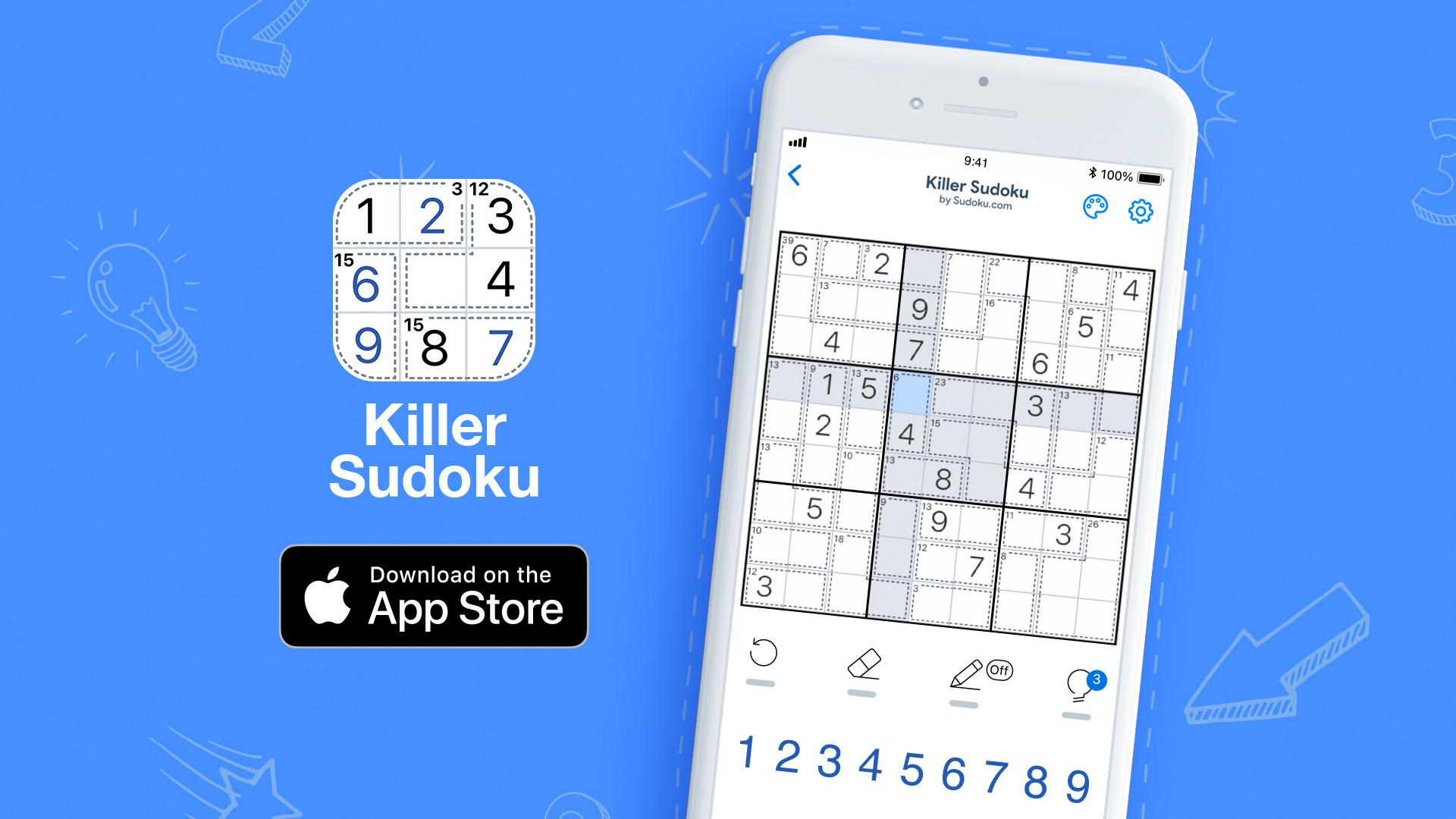 New take on the classic: Killer Sudoku by Easybrain