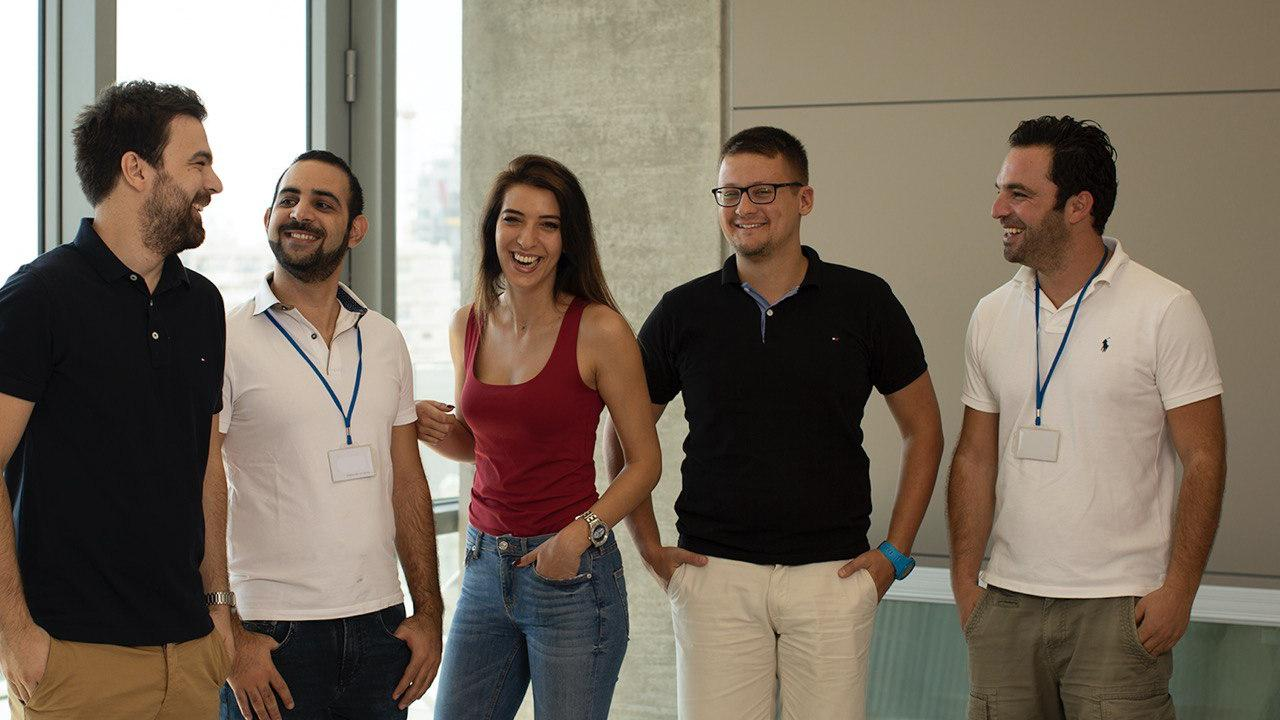 Part of Easybrain team in Limassol office